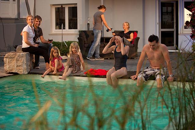 Natur Pool Schwimmteich Gartenexperte Biebetal