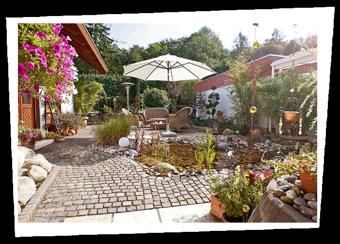 Bepflanzung Gartenteich Mittelhessen Hohenahr